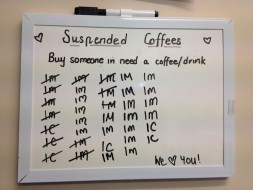 Suspended Coffee Abitza